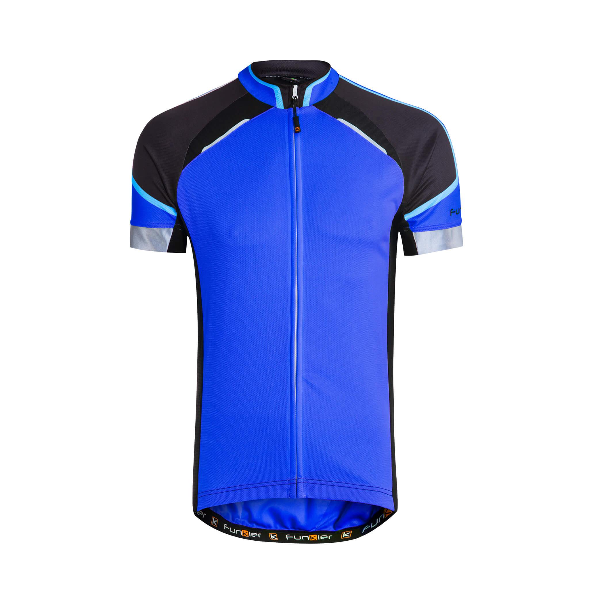 בנפט חולצת רכיבה גברים שרוול קצר Funkier Alberi JR-790 | Bike to Work AE-44