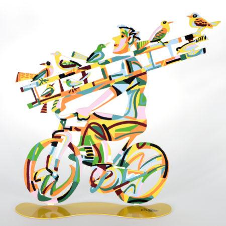 דוד גרשטיין | טרובדור על אופניים Troubadour Rider, David Gerstein