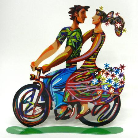 רכיבת אביב, דוד גרשטיין Spring Ride, David Gerstein