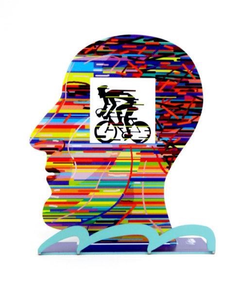 דוד גרשטיין | ראש עם רוכב David Gerstein, Head with biker