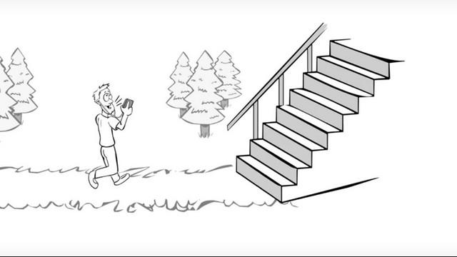 נצל כל הזדמנות לעלות במדרגות