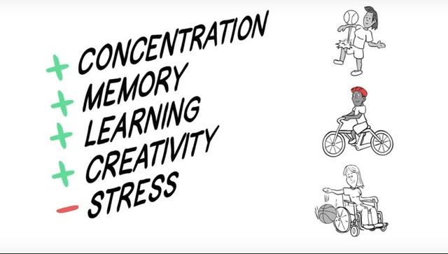 ריכוז זיכרון כושר לימודי יצירתיות